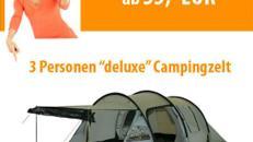 """3 Personen Zelt """"deluxe"""""""