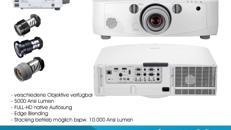 Full HD Beamer NEC PA500u Tageslichtbeamer