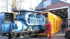 2000 kVA Stromerzeuger im Container schallgedämpft