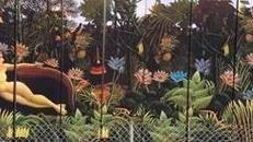Dschungel Kulisse, Dschungel, Kulisse, Urwald, Regenwald, Tropen, tropisch, Aztek, Mayas, Inkas, Dekoration