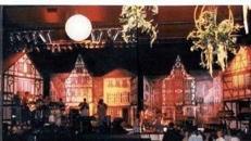 Fachwerkhaus Kulissenlandschaft, Kulisse, Fachwerk, Fachwerkhaus, Haus, hausfront, Hausfassade, Fassade, Altstadt