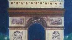 Frankreich Arc de Triomphe Kulisse, Triumphbogen, Kulisse, Arc de Triomphe, Frankreich, Paris, Wahrzeichen, Dekoration