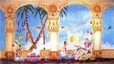 Orientalische Palast Kulisse, indisch, Palast, Kulisse, Palastkulisse, Taj Mahal, Tempelanlage, orientalisch, Indien