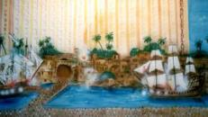 Hotel Tresure Island Kulisse, Kulisse, Hotel Tresure Island, Schatzinsel, Las Vegas, Casino, Dekoration, Event, Messe
