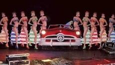 Rio Showgirls Kulisse, Rio, Rio de Janeiro, Showgirls, Kulisse, Show, Brasilien, brasilianisch, Dekoration, leihen