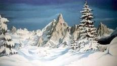 Matterhorn Kulisse, Matterhorn, Kulisse, Berg, Bergspitze, Gipfel, Berggipfel, Alpen, Schweiz, Dekoration, Event, Messe