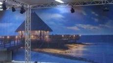 Brasilianische Strandkulisse, Brasilien, Strand, Kulisse, Strandkulisse, brasilianisch, Spanien, spanisch, Strandhaus
