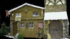 Graubünden Hauskulisse, Hauskulisse, Kulisse, Fassade, Hausfassade, Graubünden, Hütte, Almhütte, Alpenhütte, Alpenhaus