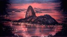 Brasilien Rio Kulisse, Brasilien, Kulisse, brasilianisch, Rio de Janeiro, Rio, Dekoration, Copacabana, Event, Messe
