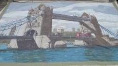 Tower Bridge Kulisse, Kulisse, Tower Bridge, Towerbridge, London, England, Britannien, Großbritannien, britisch, Brücke