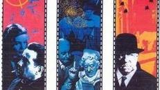 Agatha Christie & Sherlock Holmes Motivbanner, Sherlock Holmes, Agatha Christie, Kulisse, Hollywood, Film, Kino, Movie