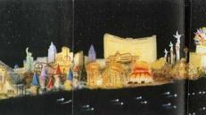 Las Vegas Street Kulisse, Las Vegas, Casino, Glücksspiel, Kulisse, Dekoration, USA, Amerika, Event, Messe