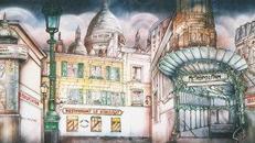 Frankreich Metropolitan Kulisse, Frankreich, Metropolitan, Metropole, Französisch, France, Kulisse, Dekoration, Stadt