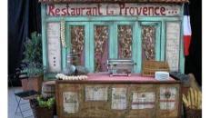 Provence Hausfassaden, Hausfassade, Provence, Frankreich, France, französisch, Paris, mediterran, Hauswand, Fassade