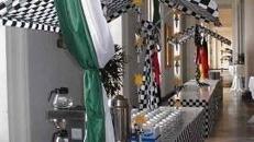 Marktstände Formel1 Stil, F1, Formel1, Markt, Stand, Markt Stände, Verkaufsstand, Verkauf, Stand, Buffet, Dekoration