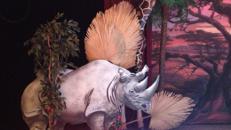 Tiere der afrikanischen Savanne Cut Outs, Tiere, Afrika, Savanne, afrikanisch, Leopard, Nashorn, Zebra, Cut Outs