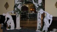Griechischer Säulenbogen, Säulenbogen, Säulen, Bogen, Torbogen, Griechisch, Griechenland, Antik, Tempel, Tempeleingang