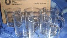 Orientalische Gläser und Untersetzer, Gläser, Untersetzer, Geschirr, Orientalisch, Becher, Orient, Ägypten, ägyptisch