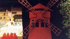 Moulin Rouge Mühle, Mühle, Moulin Rouge, Rote Mühle, Frankreich, Paris, Theater, Musiktheater, Show, Tanzshow