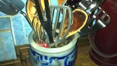 70er Jahre Küchen Accessoires, 70er Jahre, Küche, Koch, kochen, Einmachgläser, Thermoskanne, Accessoires, Topflappen
