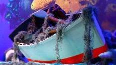 Ruderboot, Paddelboot, Boot, Anglerboot, Paddel, Ruder, Böötchen, Angler, Fischerboot, Fischer, Dekoration, Event