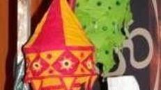 Indien Lampenhänger, Indien, Indisch, Lampenhänger, Lampe, Licht, Leuchte, Beleuchtung, Dekoration, Event, Messe