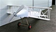 Doppeldecker Flugzeug, Propeller, Propellermaschine, Einmotorige Maschine, Flugzeug, Fliegen, Dekoration, Flugmaschine