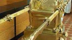 Sänfte, Tragesänfte, Dekoration, Rom, Griechenland, römisch, griechisch, Antik, Event, Messe, Veranstaltung, leihen