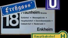 Frankfurt Schilder, Fressgass, Frankfurt, Main, Ffm, Banhofschild, Straßenschild, Schild, U Bahn, U-Bahn, Dekoration
