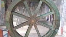 Mühlenrad Original, Mühlenrad, Wassermühle, Mühle, Rad, Wassermühlenrad, Mühlrad, Mahlrad, Dekoration, Party, Event