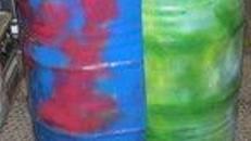 Halbe Fässer, Fässer, Fass,Veranstaltungsdekoration,Eventdekoration,Karibik Dekoration,Karibik Deko,Südsee Dekoration