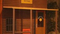 Western Haus, Western, Hausfront, Hausfassade, Fassade, Kulisse, Sheriff, Office, Wilder Westen, Dekoration, Mieten