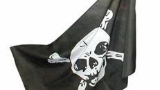 Piraten Flaggen, Flagge, Pirat, Fahen, Totenschädel, Totenkopf, Freibeuter, Meer, Schwarze Flagge, Fahne, Dekoration