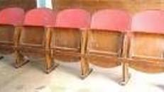 Kinosessel, Sessel, Sitze, Kinositze, Kino, Sitzreihe, Sitzbank, Film, Movie, Dekoration, Event, Messe, Veranstaltung
