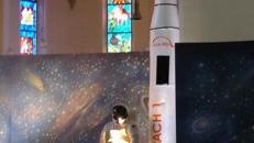 Weltraum Rakete XXL, Rakete, Weltraum, Weltall, All, Raumfahrt, Raumschiff, Mondlandung, Astronaut, NASA, Dekoration