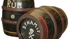 Piraten Rum Fass, Rum, Fass, Piratenfass, Rumfass, Holzfass, Pirat, Freibeuter, Dekoration, Event, Messe, Veranstaltung