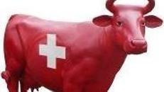 Kuh Figur Schweiz, Kuh, Figur, Schweiz, Schweizer Kuh, Alm, Alpen, Milchkuh, Bauer, Bauernhof, Dekoration, Stall, Tier