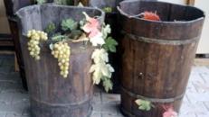 Weinkiepen, Wein, Weinbau, Weinrebe, Weinberg, Kiepen, Eimer, Weintraube, Traubenlese, Event, Messe, Veranstaltung