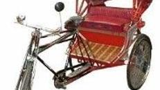 Fahrrad Rikscha, Rikscha, Fahrrad, Fahrradkutsche, China, chinesisch, Asien, Asia, Kutsche, Event, Messe, Veranstaltung