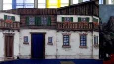 Alpenland Haus Fassaden, Alpenland, Landhaus, Landhausfassaden, Hausfassaden, Bayern, Kulisse, Event, Messe