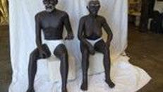Afrika Eingeborene, afrikanisch, Afrika, Eingeborene, Wüste, Figur, Event, Messe, Veranstaltung, leihen, mieten