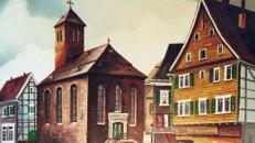 Bergische Altstadt Kulisse, Kulisse, Altstadt, Kirche, Kleinstadt Kulisse, Fachwerk, Event, Messe, Veranstaltung