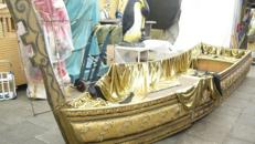 Venedig Gondel, Gondel, Gondoliere, Venedig, Venezia, Italien, italienisch, Adria, Dekoration, Event, Messe