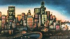 Amerika Chicago Kulisse 2, USA, Amerika Kulisse, Chicago Kulisse, Chicago, Stadtkulisse, Stadt, Skyline Kulisse, Event
