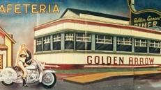 Amerika Golden Arrow Kulisse, Amerika, Kulisse, Golden Arrow, USA, amerikanisch, Cafeteria, Cafeteria Kulisse, Event