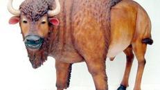 Bison Figur, Indianer, Wilder Westen, Western, Cowboy, Büffel, Figur, Bulle, Tier, Event, Messe, Veranstaltung, leihen
