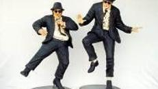 Blues Brothers Figuren, Blues Brothers, Figur, Film, Movie, Kino, Hollywood, Charleston, Event, Messe, Veranstaltung