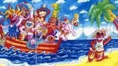 Karneval Riverboot Kulisse, Karneval, Carneval, Kulisse, Riverboot, Boot, Fasching, Fassenacht, Fassnacht, Dekoration