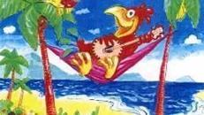 Karneval Papagei Kulisse, lustig, Karneval, Carneval, Fassnacht, Fassenacht, Fasching, Kulisse, Papagei, Dekoration