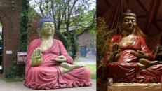 Buddha Figur XXL, Buddha, Buddhismus, Figur, Dekoration, Asia, Asien, China, Japan, asiatisch, Event, Messe